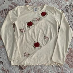 New The Children's Place Floral Top Size 14